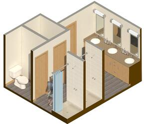 Bathroom level 2 drawing 12-18